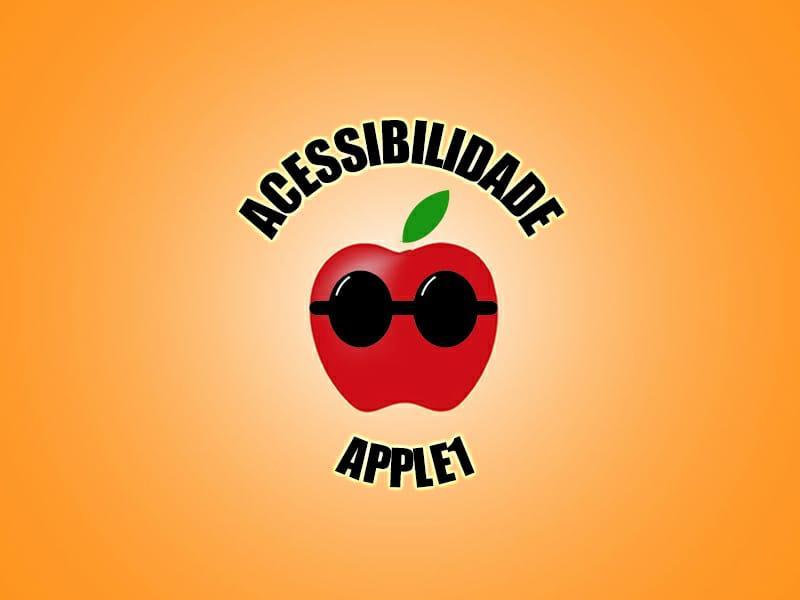 Seja um apoiador do Acessibilidade Apple 1