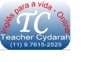 TEACHER CYDARAH – Aulas de inglês